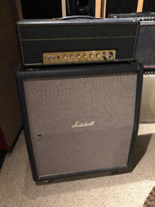 Marshall 1960TV 4x12 Cabinet with Celestion Greenback Speakers