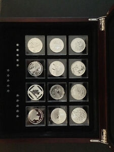 Royal Canadian Mint Fabulous 15 of 2014 coin set Strathcona County Edmonton Area image 2