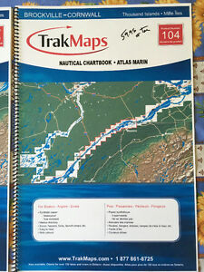 TrakMaps Charts - Thousand Islands - Two Volumes - New