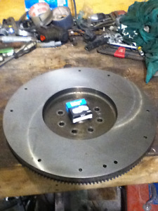 Dodge 5.9l Cummins Reground Flywheel and New Pilot Bearing