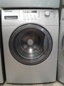 """27"""" SAMSUNG FRONT LOAD GREY WASHER"""