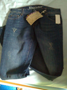 Women's Bluenotes jeans pants lowrise Size 27 new with tags London Ontario image 5