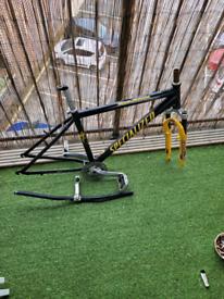 17 inch mountain bike frame