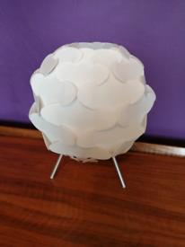 IKEA table desk bedside light lamp white retro