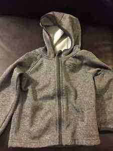 12-18 month North face grey hoodie