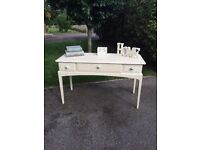 Stag console table shabby chic