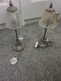 Pair of vintage style lamps