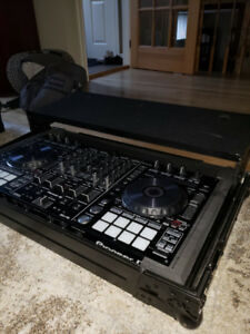 DDJ-RX with LED & Sliding stand Odyssey case