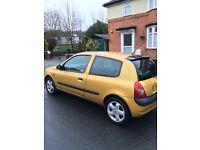 Renault clio 1.2 dynamique £600
