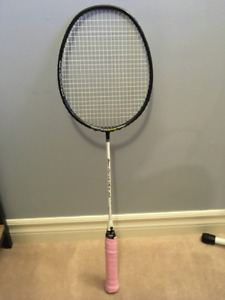 Black Knight Max-Force Hex 33 Badminton Racket ($140)