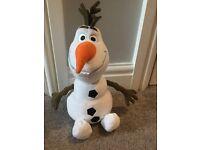Disney Store Olaf teddy