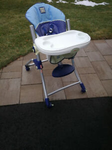 Quality baby highchair from original owner, clean, like new