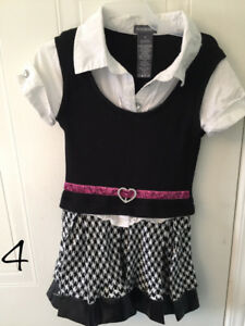 Various girls dresses, excellent condition