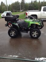 2012 arctic cat 700 limited edition with power steering