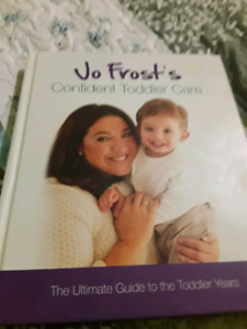 Toddler book from Jo Frost in new condition