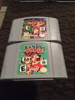 N64 games for sale.