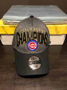 Chicago Cubs World Series Champions Fitted Ball Cap