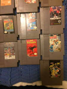 NES 17 games available starting at $10.00 No duplicates.