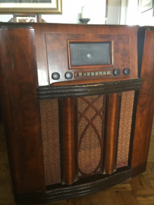 Radio, 1930's Westinghouse Floor Model. $125.  OBO