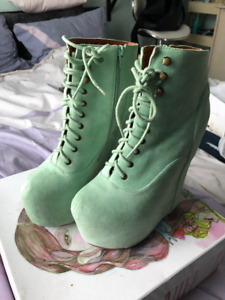 Jeffrey Campbell Mint Damsel women size 9