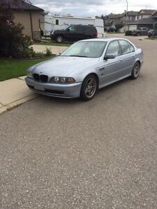 BMW 5 series with m package