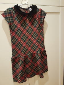 Plaid Janie & Jack holiday dress!