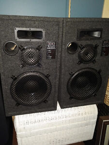 2 sets speakers...mint condition, 200 watts