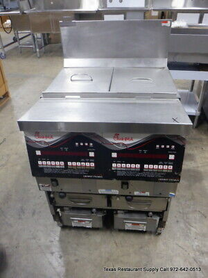 Henny Penny Cfe-427 27 Electric 2 Bay Commercial Fryer