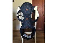 I-angel hip seat baby carrier - denim