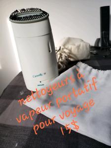Nettoyeurs vapeur portatif pour voyage