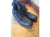Firetrap men's brown leather boots