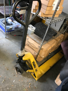 Yale Hand Pallet Truck - Used