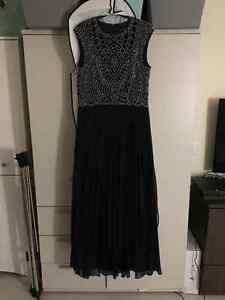 Gala dress - size 14 - Navy Blue
