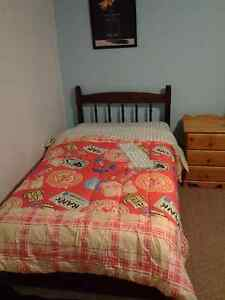 Room for Rent  A minute walk to UNB, includes all amenities in r
