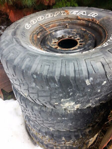 """16"""" RIMS with tires"""