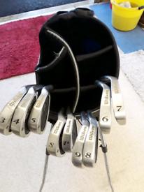 Wilson irons.