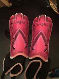 Pink Shin Guards/Pads-age 7 and up