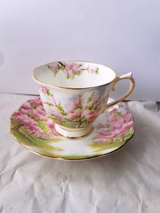 "Vintage Royal Albert ""Blossom Time""  Teacup"