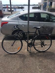 Large 21 Speed Hybrid Bike