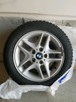 BMW Rims with Winter Tires for sale