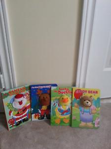 Kids books- Santa, Reindeer, Duckling &Bear