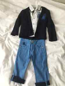 boy set 1 year new never worn