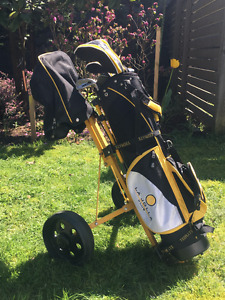 La Jolla Junior Golf Set with Bag and Cart