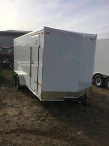 "2017 Look 7x16 Enclosed Trailer 12"" Extra Height"