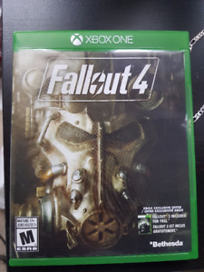 Fallout 4+Vault Tech Perks Poster $35+Evil Within$30 - Xbox One