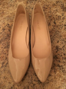 Nine West Nude wedge shoes