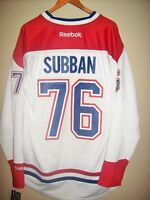 NEW : SIZE L : PK SUBBAN 76 MONTREAL CANADIENS NHL REEBOK JERSEY City of Montréal Greater Montréal Preview