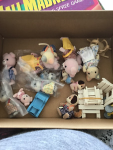 Little calico critters lot