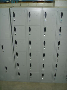 New standard lockers
