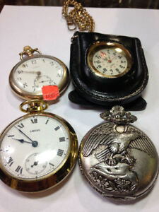 Pocket Watches $100+up